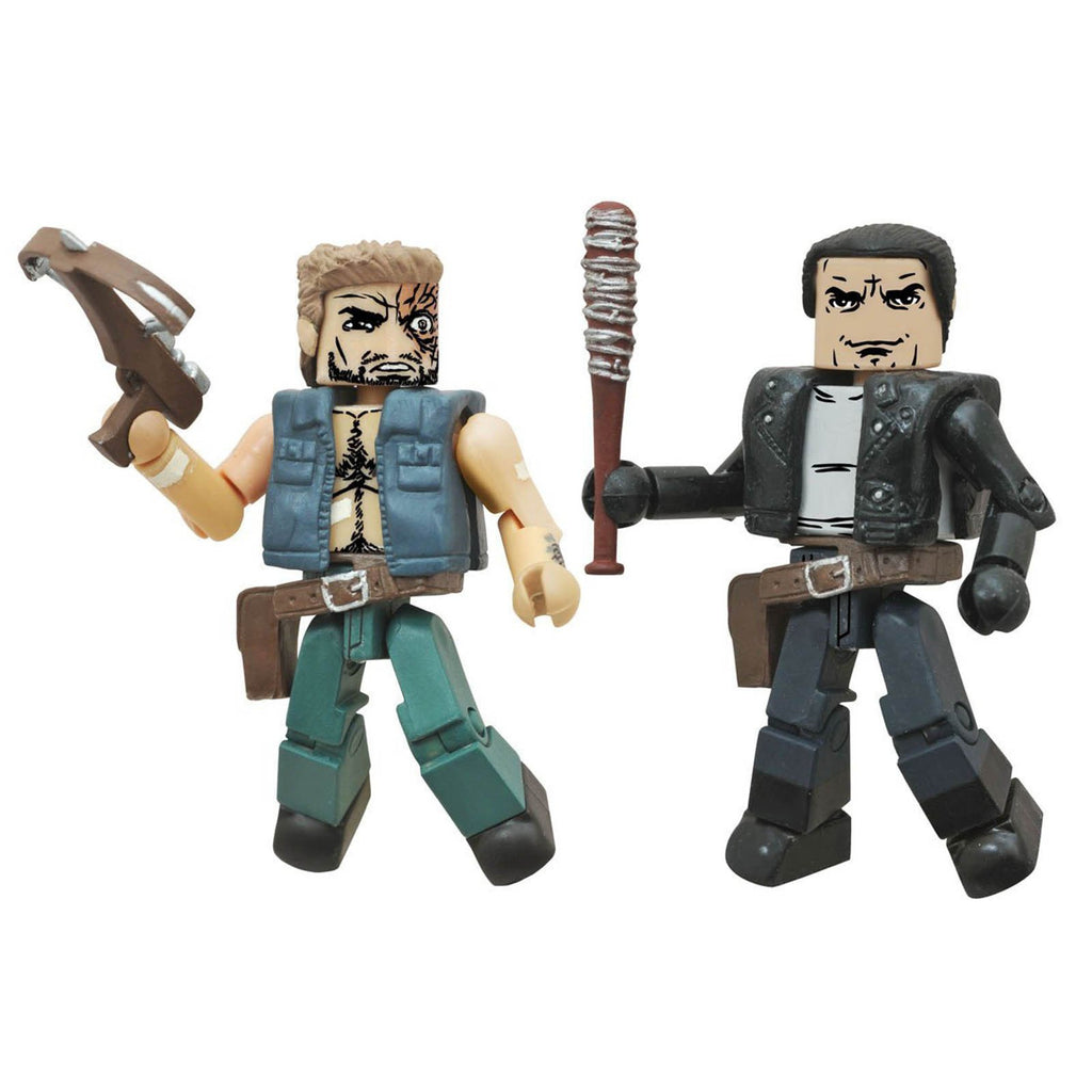 Minimates Walking Dead Series 7 Negan And Dwight Figure Set