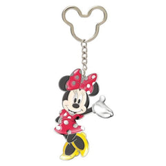 Disney Mickey Gang Minnie Mouse Colored Metal Keychain