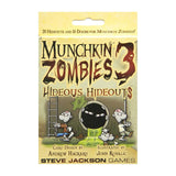 Card Games - Munchkin Zombies 3 Hideous Hideouts Expansion Card Game