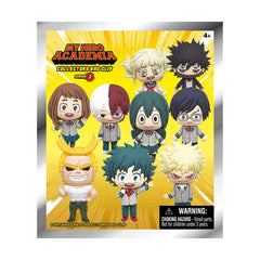 My Hero Academia 3D Foam Series 3 Bag Clip Blind Bag