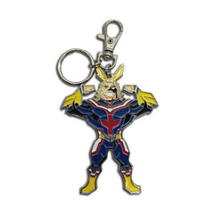 My Hero Academia All Might Metal Keychain