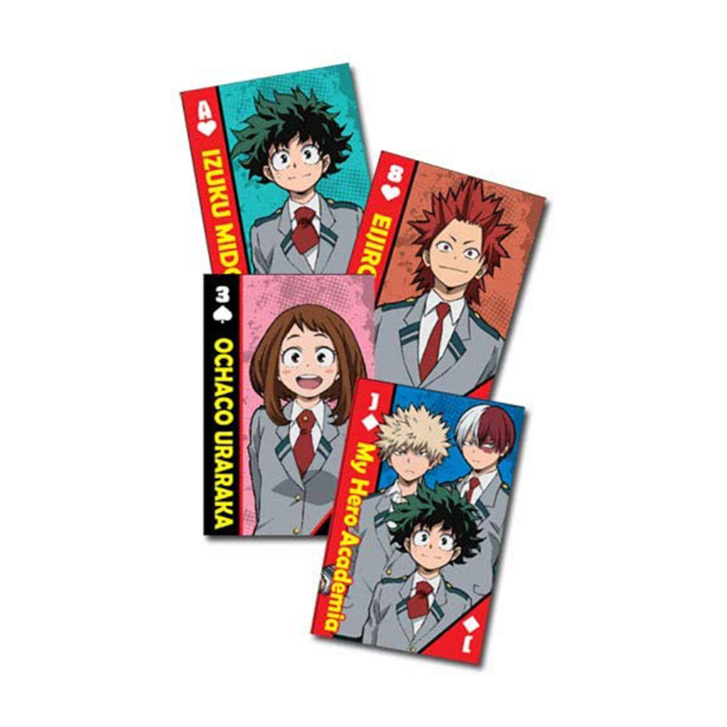 My Hero Academia Hero School Uniforms Group Playing Cards