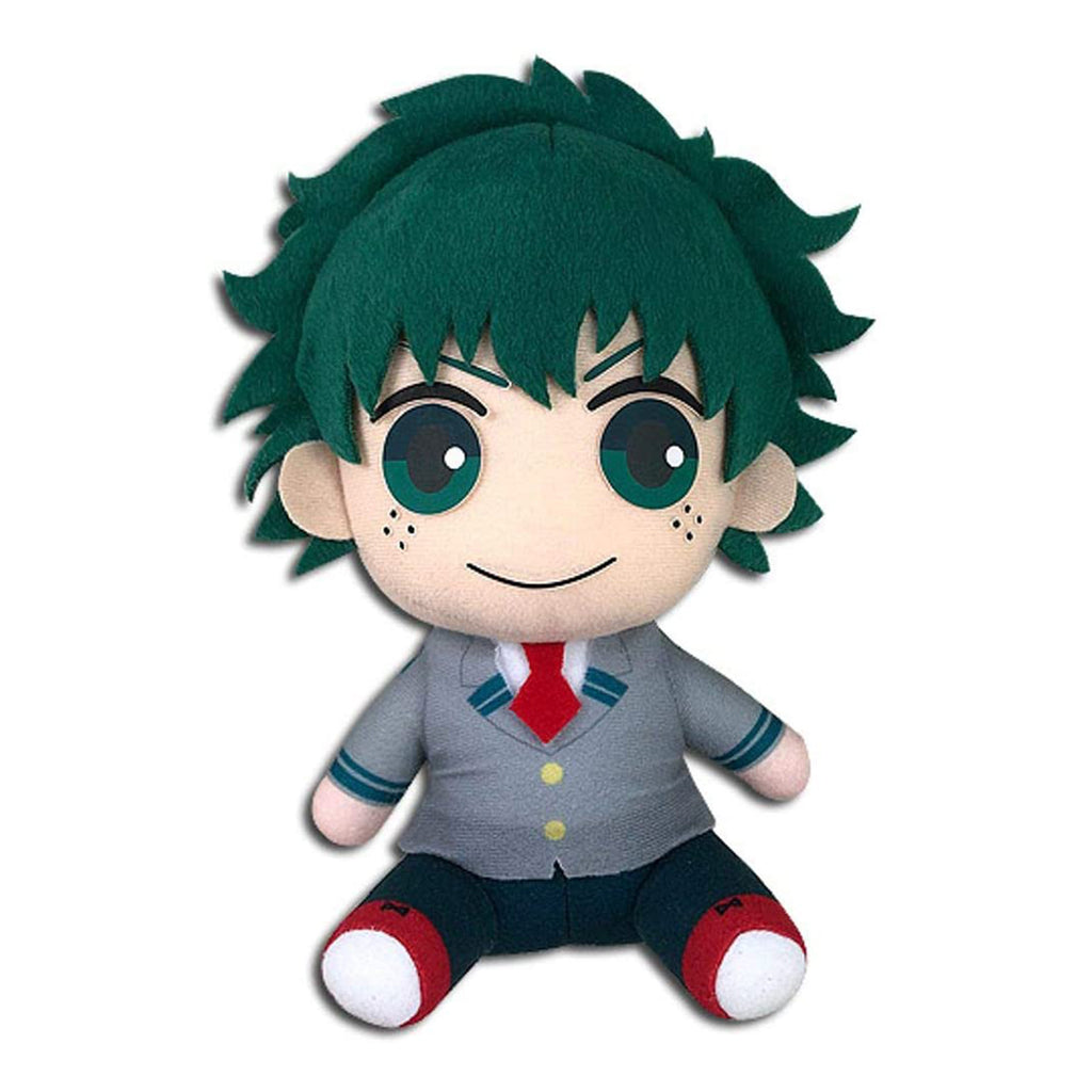 My Hero Academia S2 Deku Seifuku Sitting 7 Inch Plush Figure