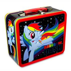Lunch Boxes - My Little Pony Metal Lunch Box Rainbow Dash