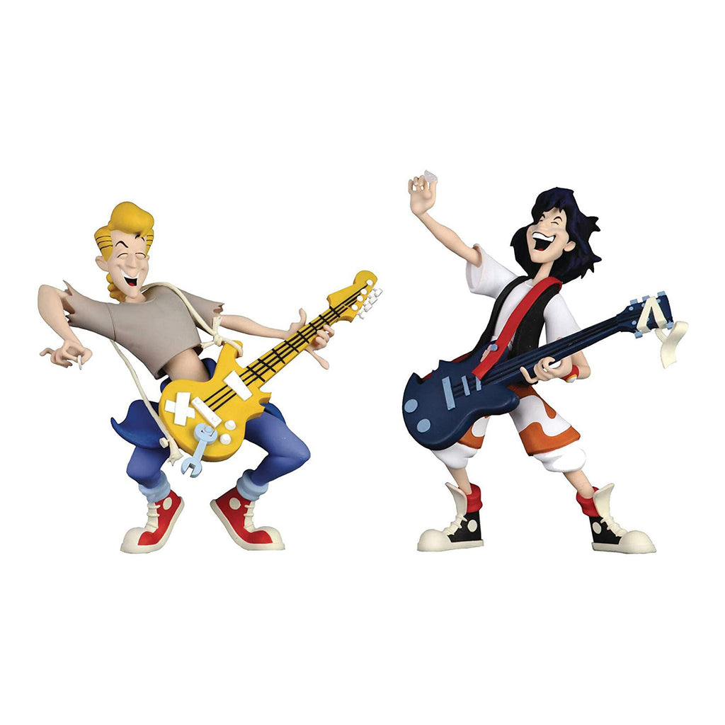 NECA Bill And Ted Toony Classics 2 Action Figure Set