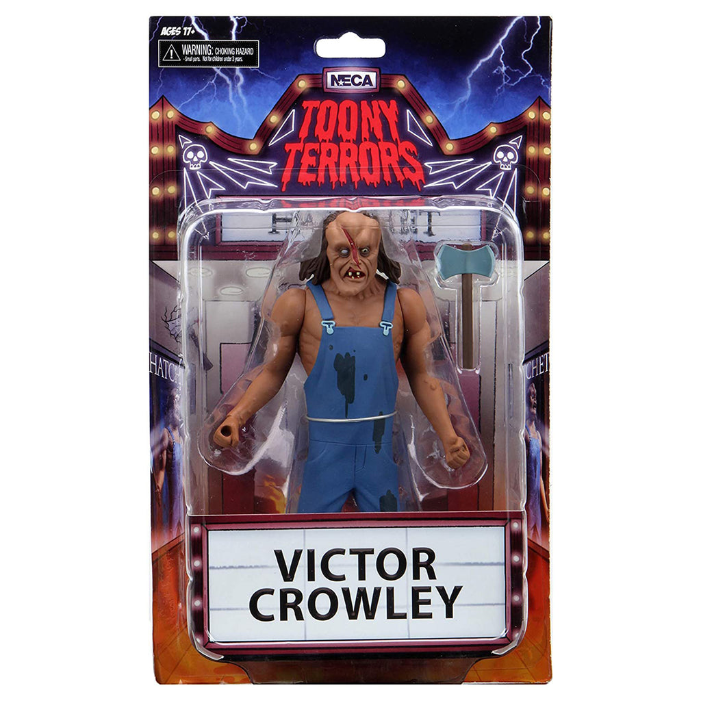 NECA Hatchet Toony Terrors Victor Crowley Action Figure