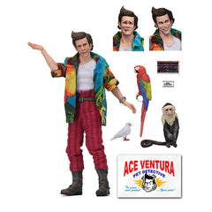 NECA Ace Ventura Pet Detective Clothed 8 Inch Action Figure