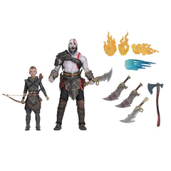 NECA God Of War Kratos And Atreus Ultimate Action Figure Set