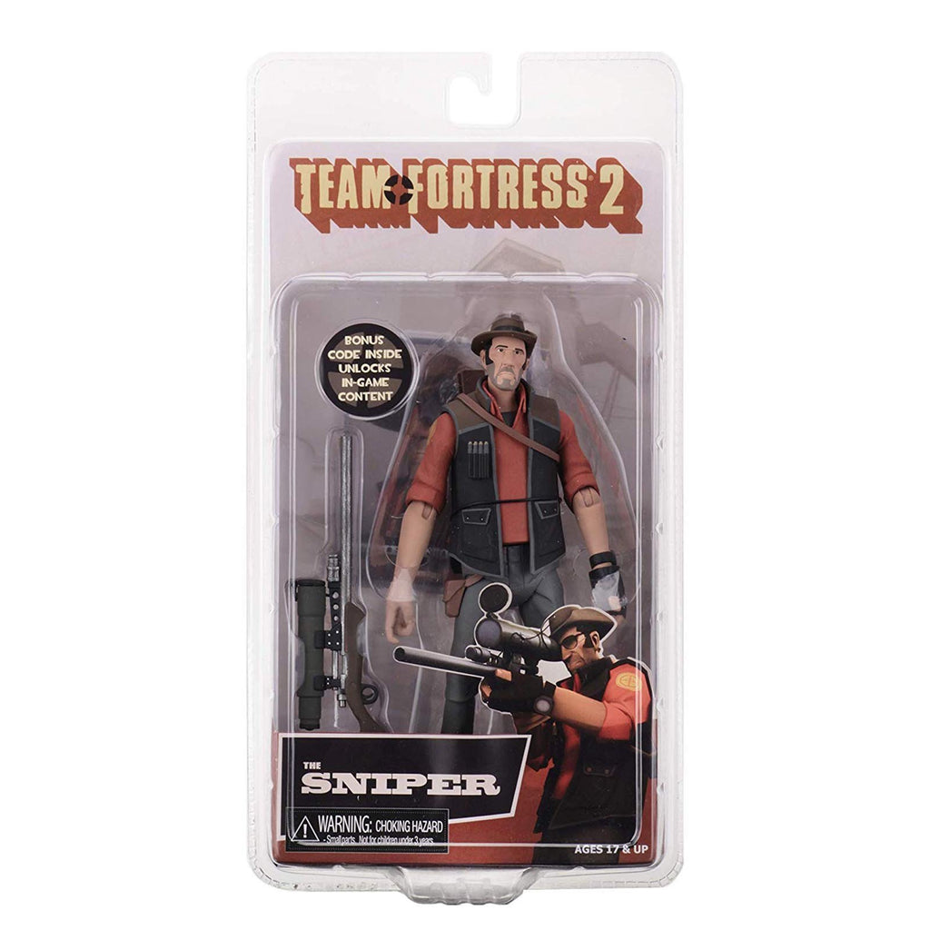 NECA Team Fortress 2 Red Team Sniper 7 Inch Action Figure