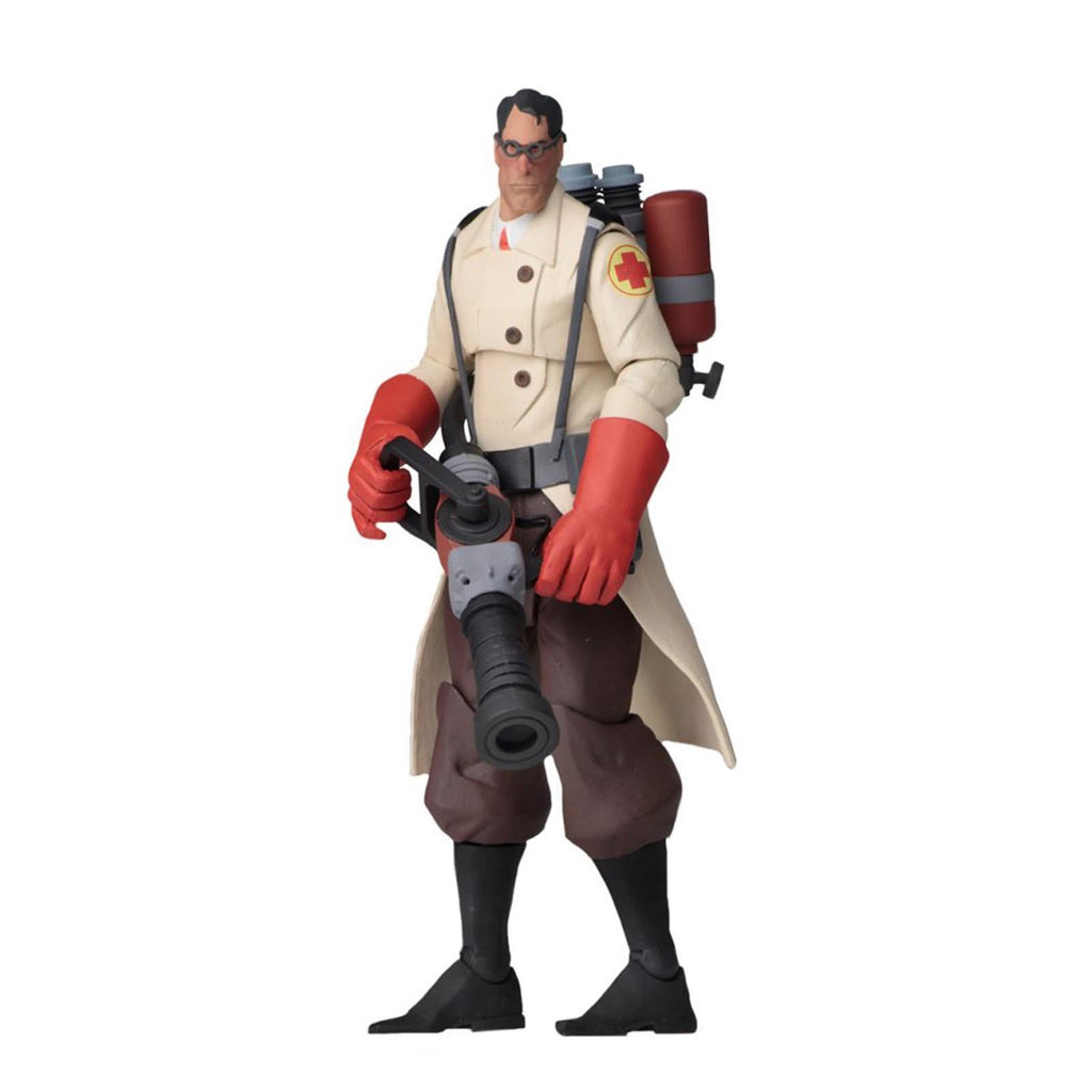 NECA Team Fortress 2 Red Team The Medic 7 Inch Action Figure