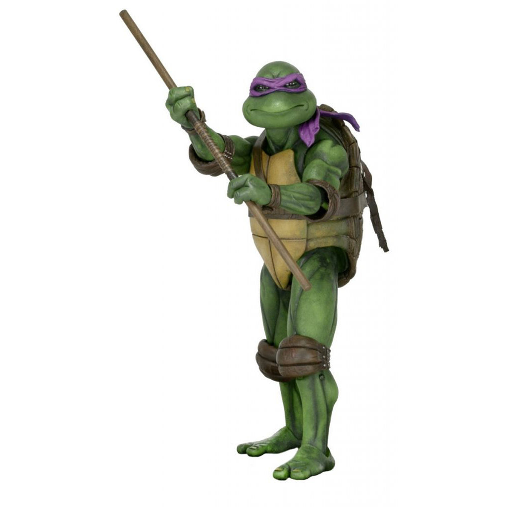 NECA Teenage Mutant Ninja Turtles Donatello 1990 Quarter Scale Figure