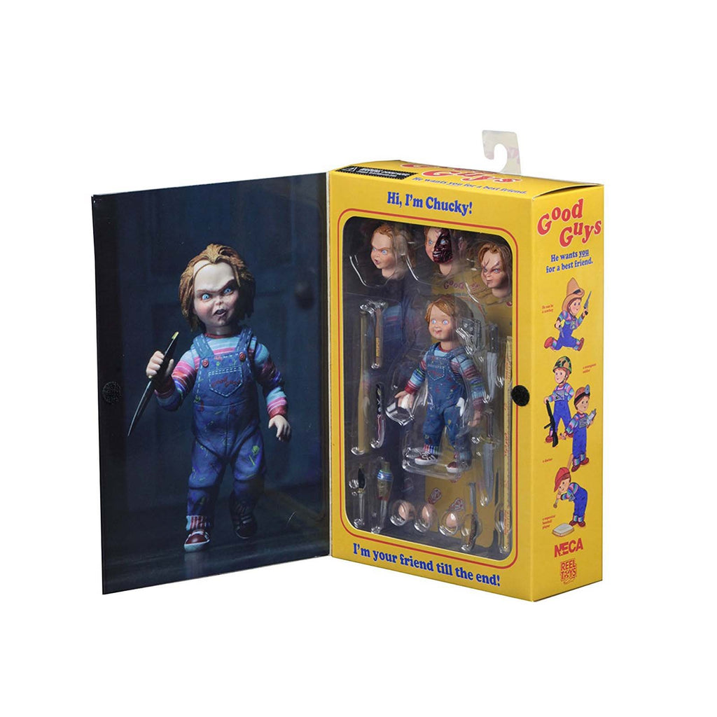 Neca Action Figures - NECA Ultimate Chucky 4 Inch Action Figure