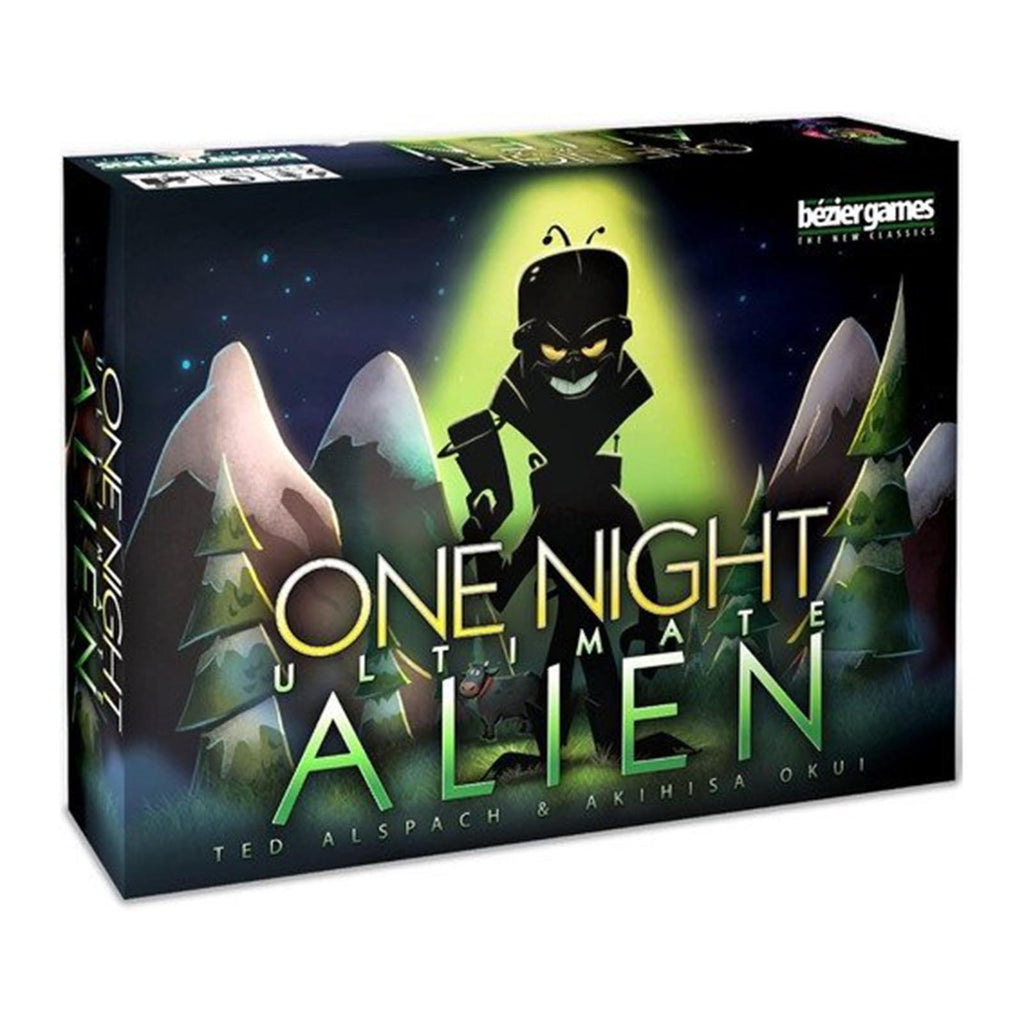 One Night Alien The Card Game