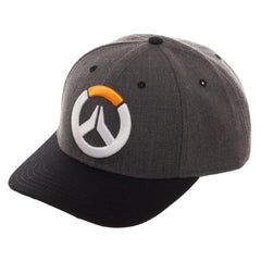 Hats - Overwatch Embroidered Logo Curved Snapback Hat