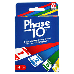 Phase 10 A Rummy Type Card Game