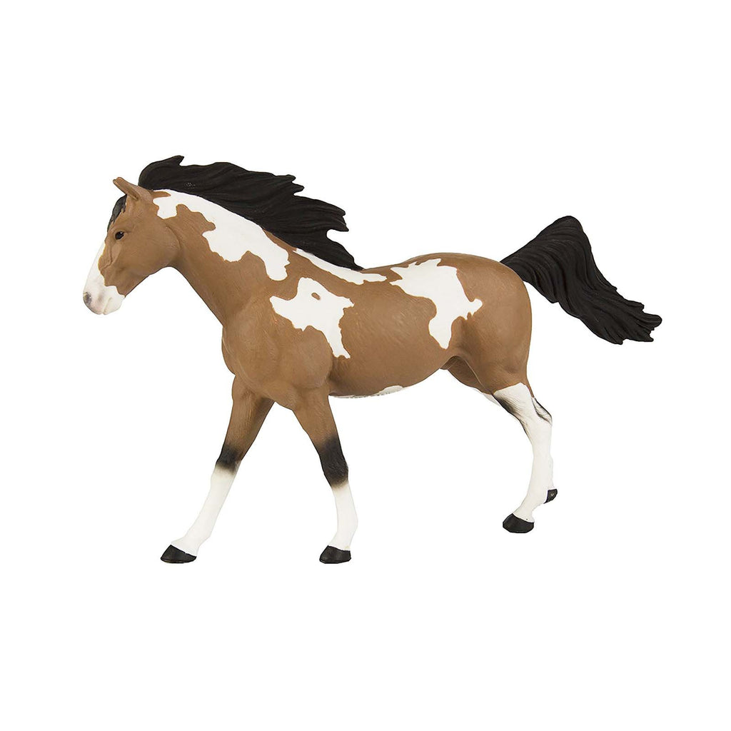 Mammal Figures - Pinto Mustang Stallion Winner's Circle Horses Figure Safari Ltd
