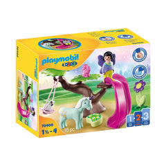 Playmobil 123 Fairy Playground Building Set 70400
