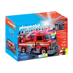 Playmobil City Action Rescue Ladder Unit Building Set 5682