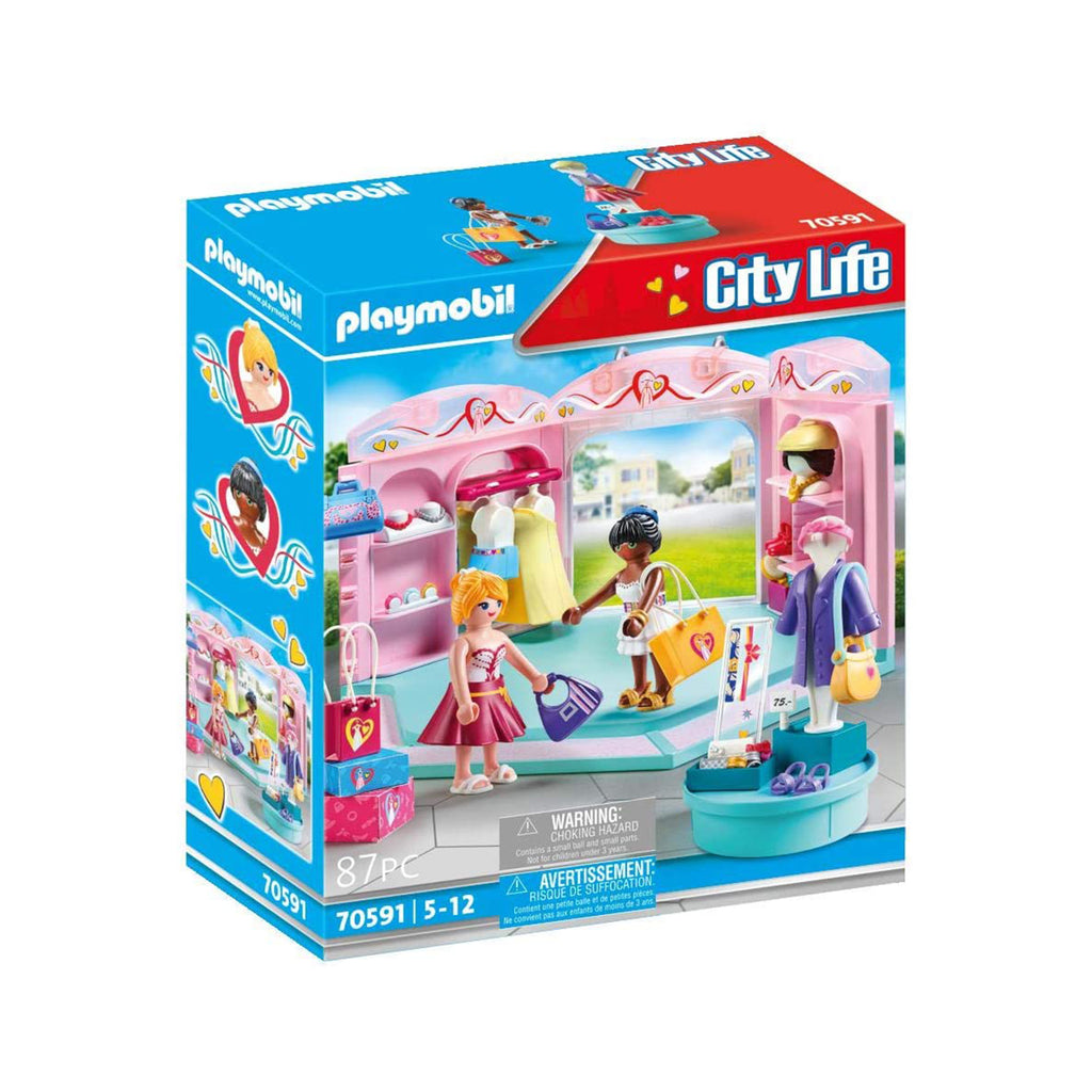 Playmobil City Life Fashion Store Building Set 70591