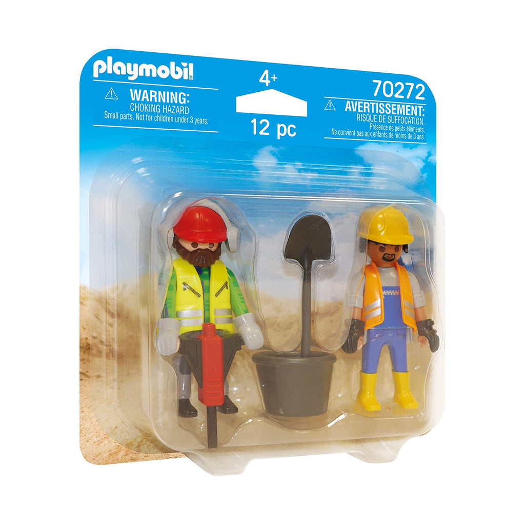 Playmobil Construction Workers Duo Pack Building Set 70272