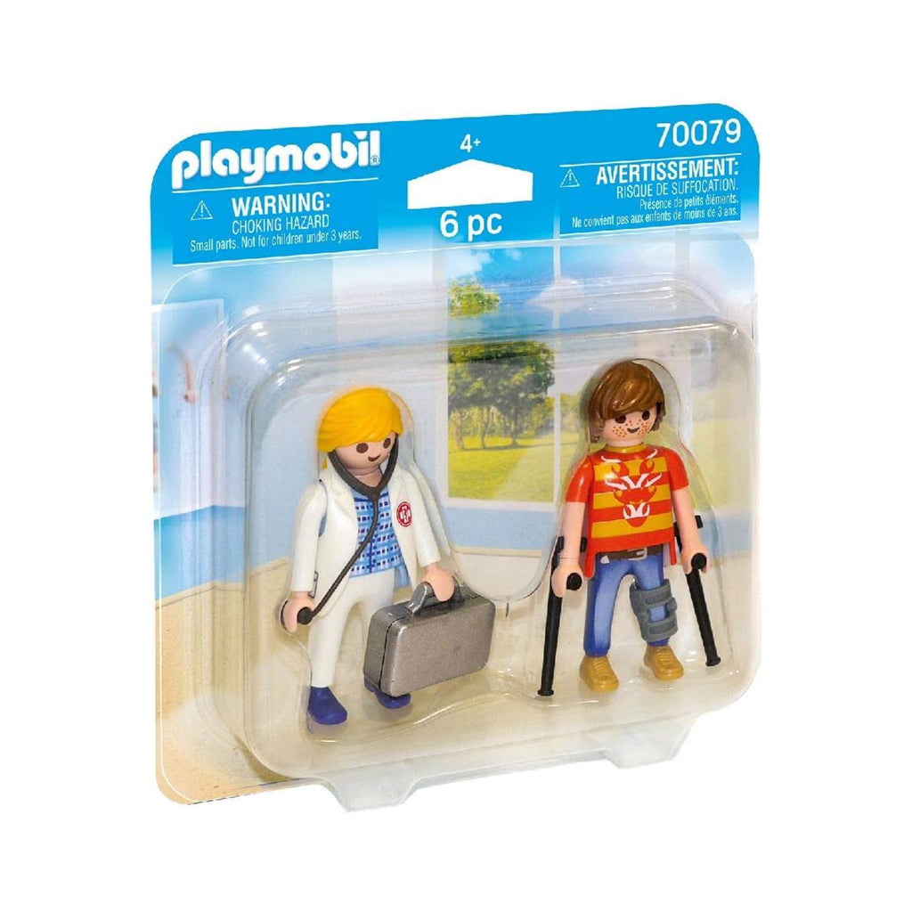 Playmobil Doctor And Patient Building Set 70079