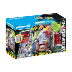 Playmobil Ghostbusters Play Box Building Set 70318