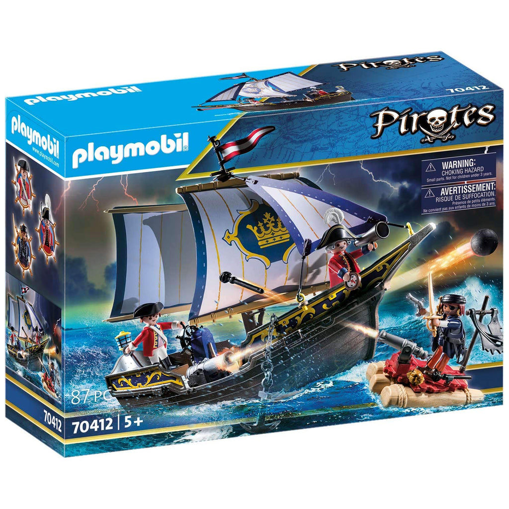 Playmobil Pirates Redcoat Caravel Building Set 70412