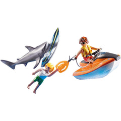 Playmobil Rescue Action Shark Attack Rescue Building Set 70489