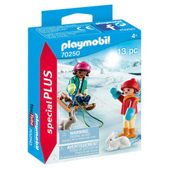 Playmobil Special Plus Children With Sleigh Building Set 70250