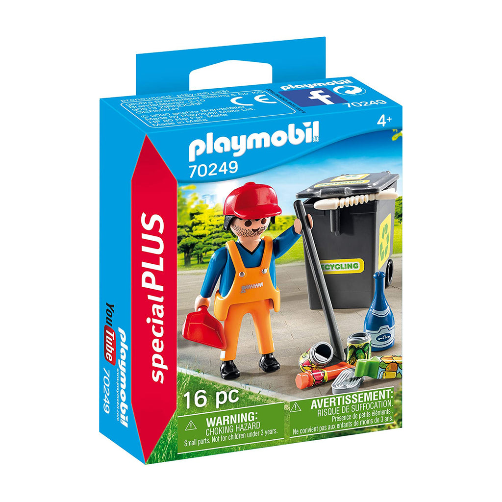 Playmobil Special Plus Street Cleaner Building Set 70249