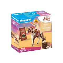 Playmobil Spirit Untamed Rodeo Abigail Building Set 70698