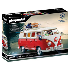 Playmobil Volkswagon T1 Camping Bus Building Set 70176