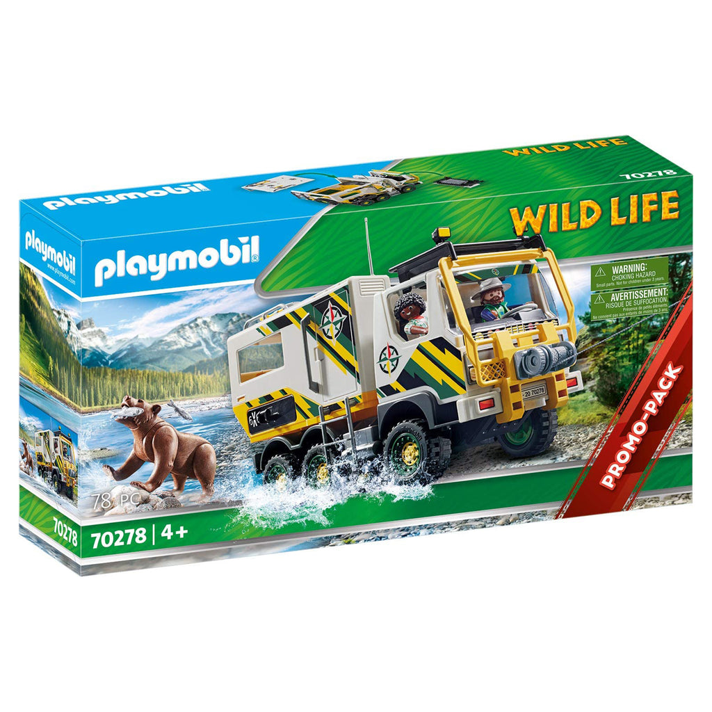 Playmobil Wild life Outdoor Expedition Truck Set 70278