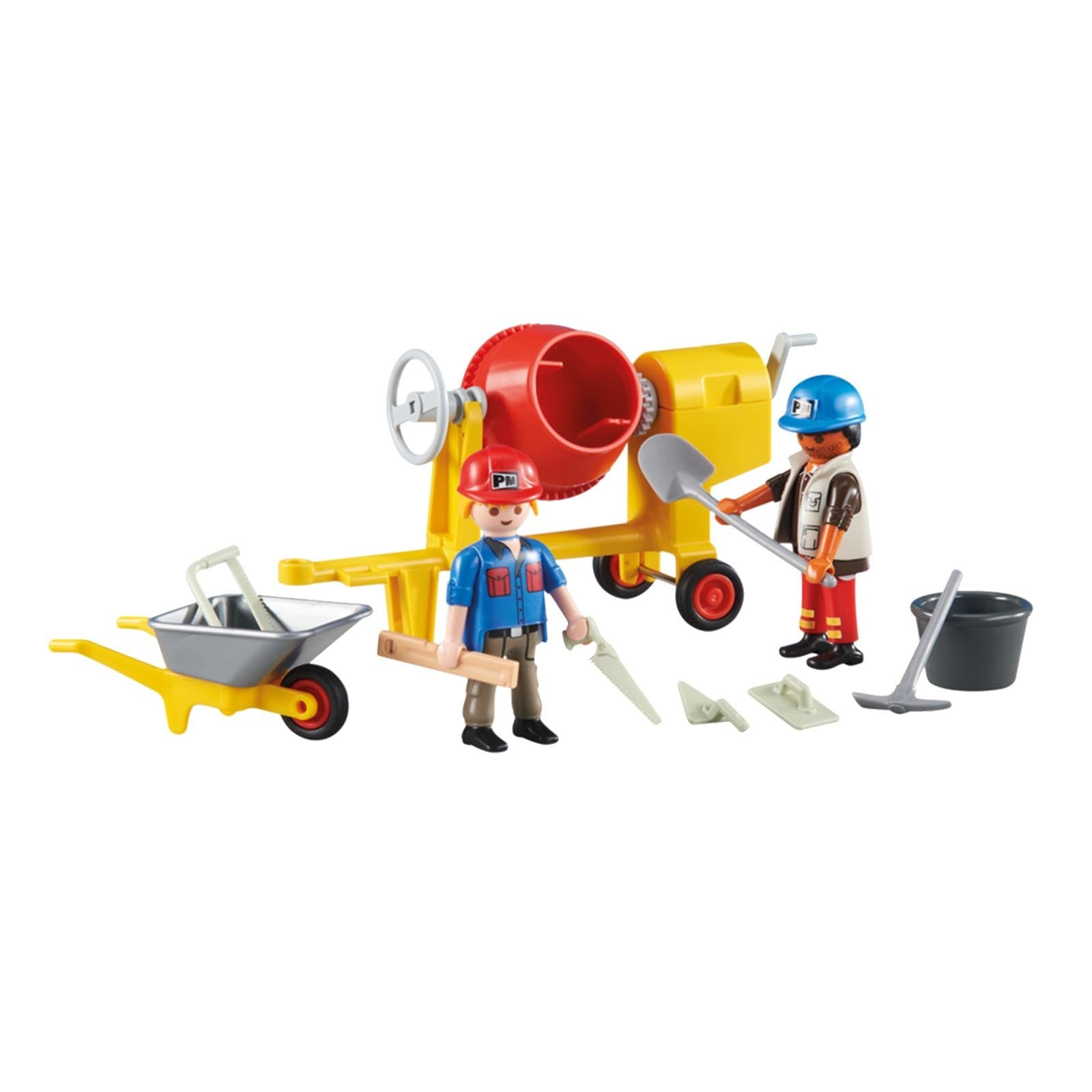 Playmobil 2 Construction Workers Building Set 6339