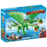 Playmobil - Playmobil Dragons Ruffnut And Tuffnut Building Set 9458