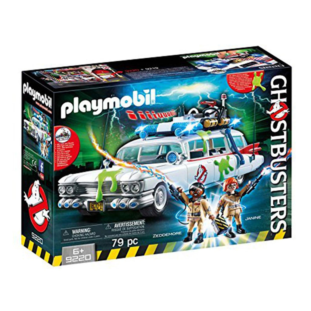 Playmobil Ghostbusters Ecto-1 Building Set 9220