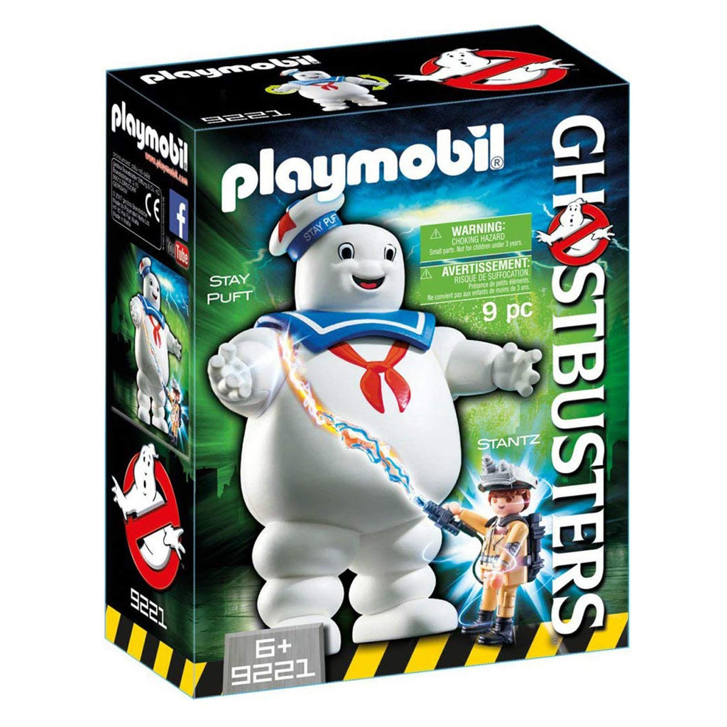 Playmobil Ghostbusters Stay Puft Marshmallow Man Building Set 9221