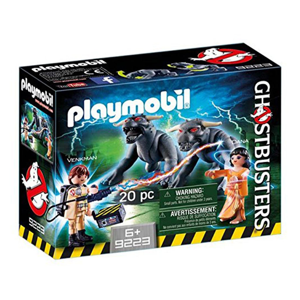 Playmobil Ghostbusters Venkman And Terror Dogs Building Set 9223