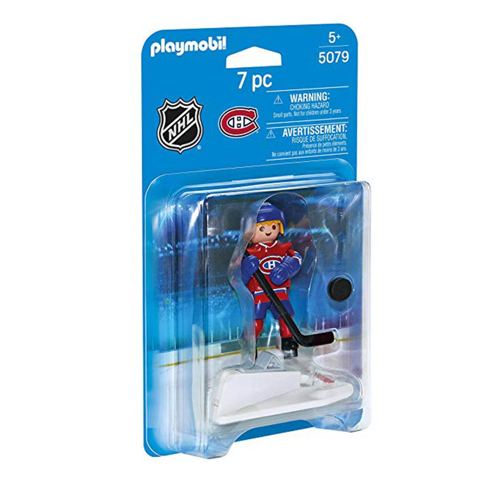 Playmobil - Playmobil NHL Montreal Canadiens Player Building Set 5079
