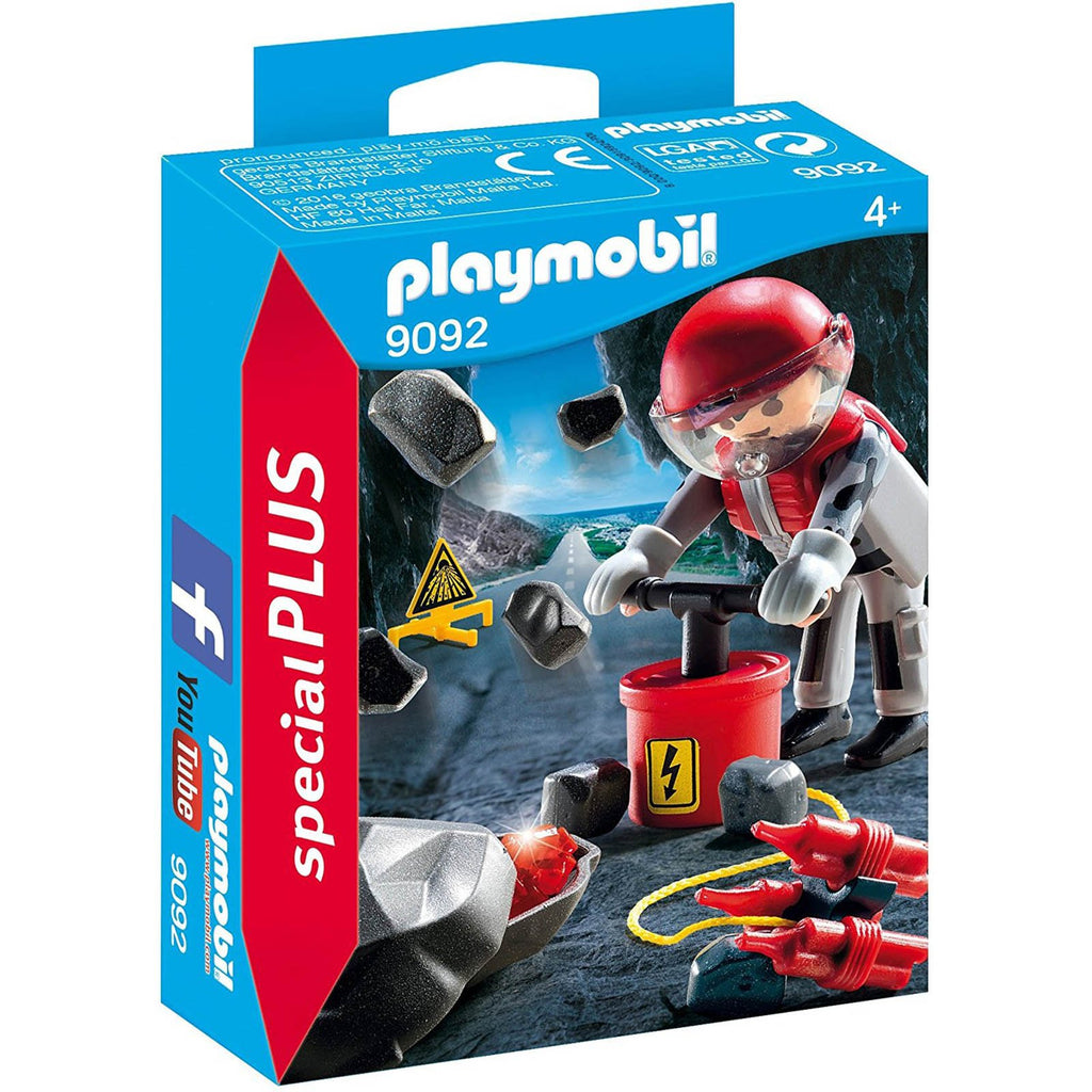 Playmobil - Playmobil Rock Blaster With Rubble Building Set 9092
