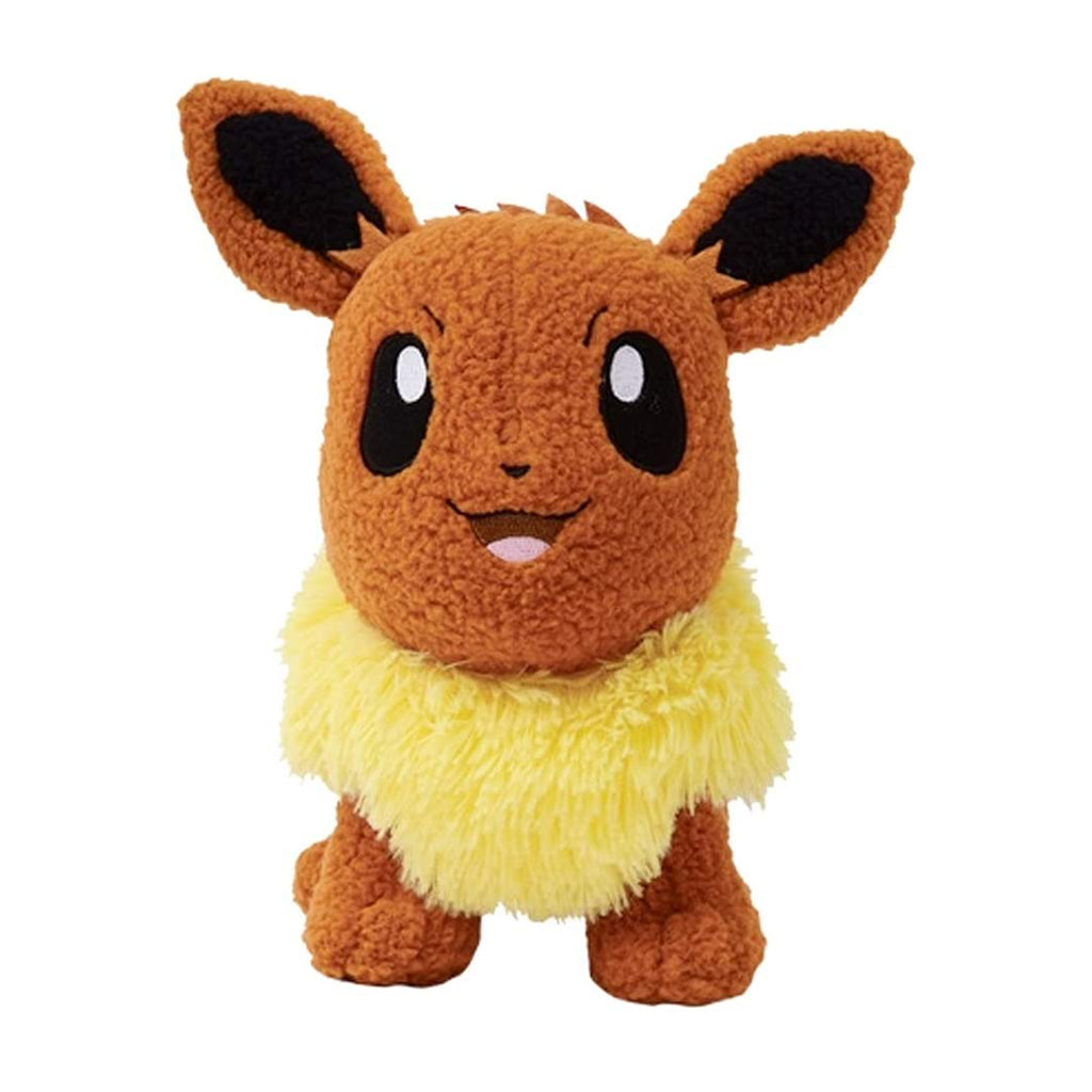 Pokemon Eevee Curly Fabric 8 Inch Plush Figure