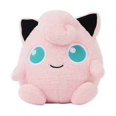 Pokemon Jigglypuff Curly Fabric 9 Inch Plush Figure