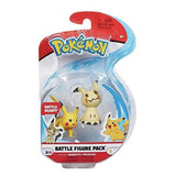 Pokemon Mimikyu And Pikachu Battle Figure Pack