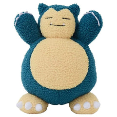 Pokemon Snorlax Curly Fabric 10 Inch Plush Figure