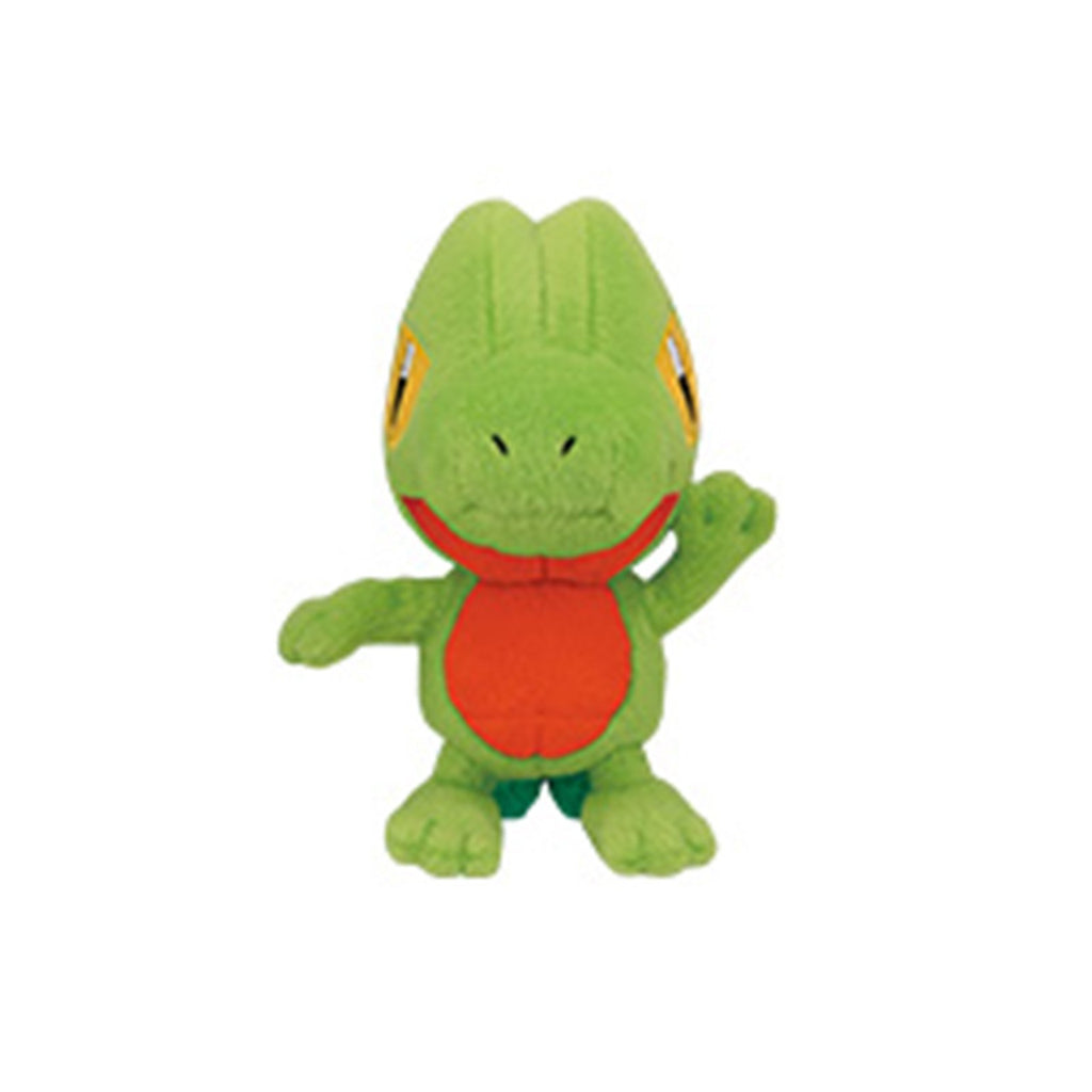 Pokemon Waving Treecko 5 Inch Plush Figure