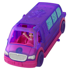 Polly Pocket Pollyville Party Limo Figure Set