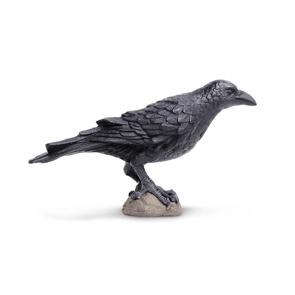 Raven Wings Of The World Birds Figure Safari Ltd