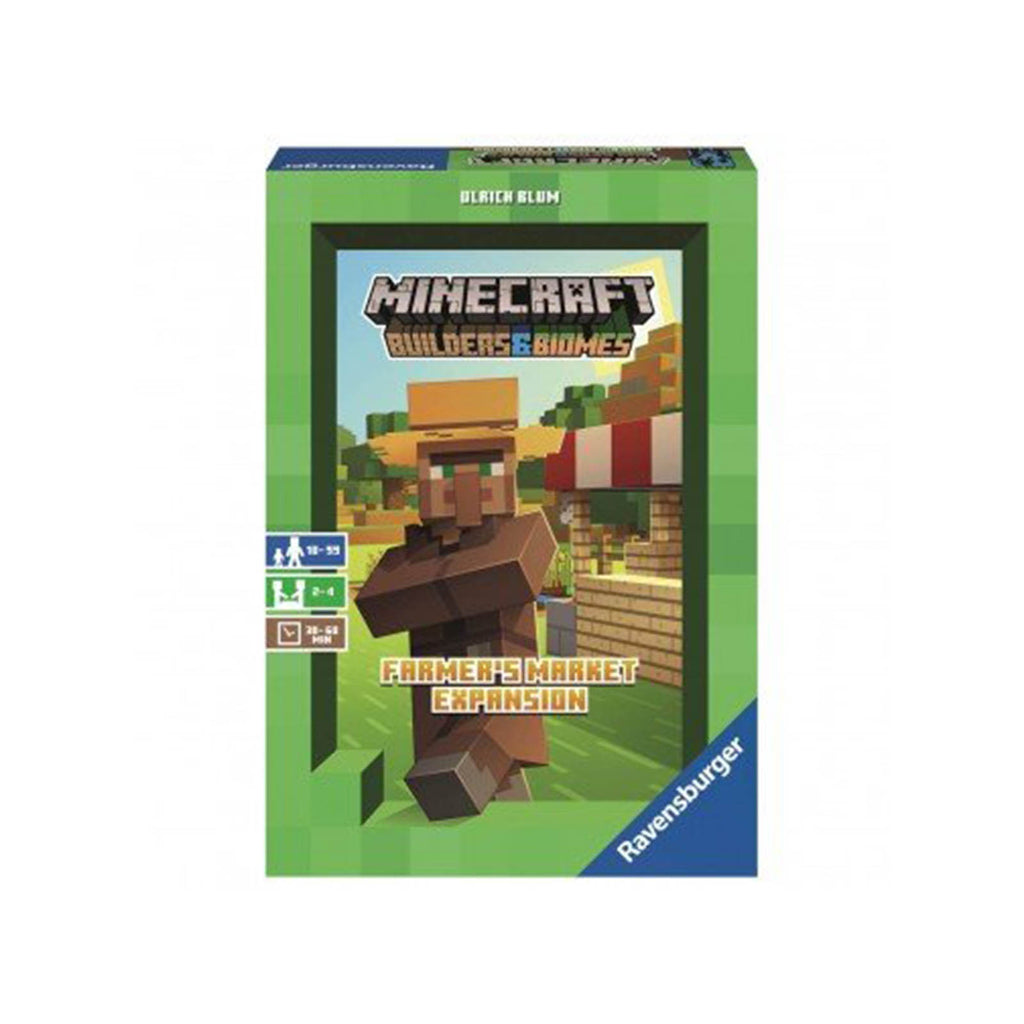 Ravensburger Minecraft Builders And Biomes Farmer's Market Expansion