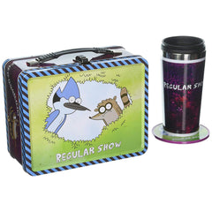 Lunch Boxes - Regular Show EE Exclusive Tin Tote With Mug And Coasters Set