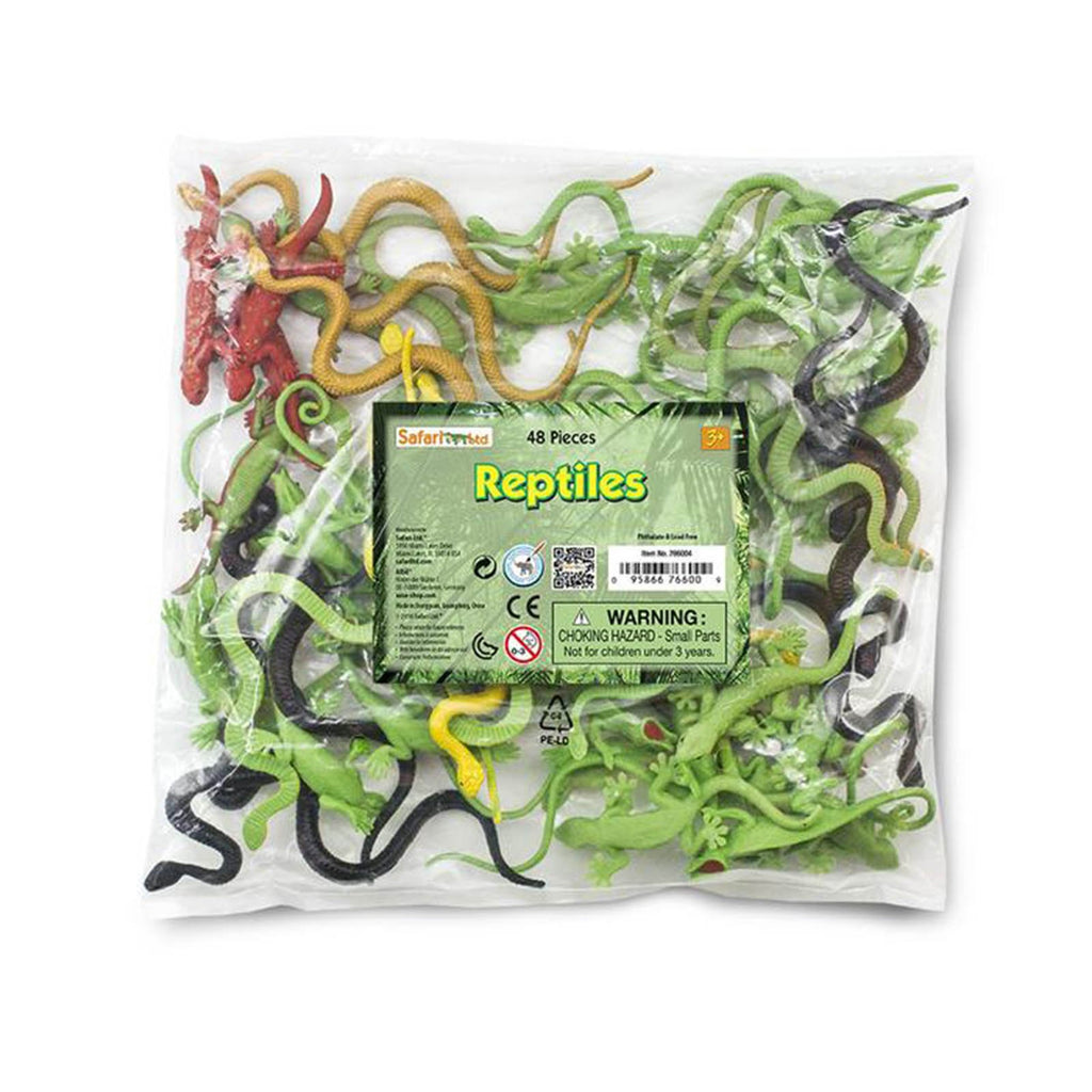 Reptiles Bulk Bag Animal Figures Safari Ltd